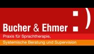 Bucher und Ehmer Farblogo mit Rahmen